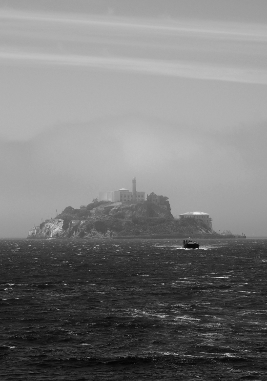 ALCATRAZ ISLAND, SAN FRANCISCO BAY, CALIFORNIA (USA)