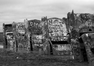 CADILLAC RANCH, AMARILLO, TEXAS (USA)