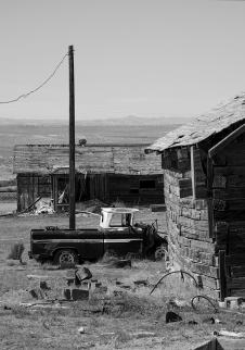 CISCO, GHOST TOWN, UTAH (USA)