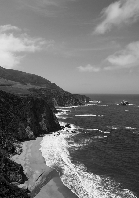 COAST, HIGHWAY 1, CALIFORNIA (USA)
